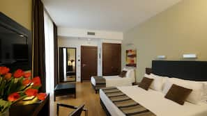 In-room safe, soundproofing, cots/infant beds, free WiFi