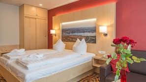 Pillowtop-Betten, Zimmersafe, Schreibtisch