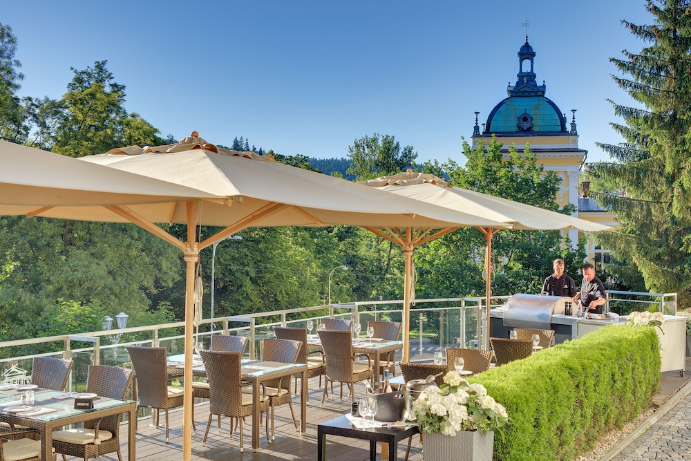 Gourmet hotel villa patriot in karlovy vary hotel rates for Gourmet hotels