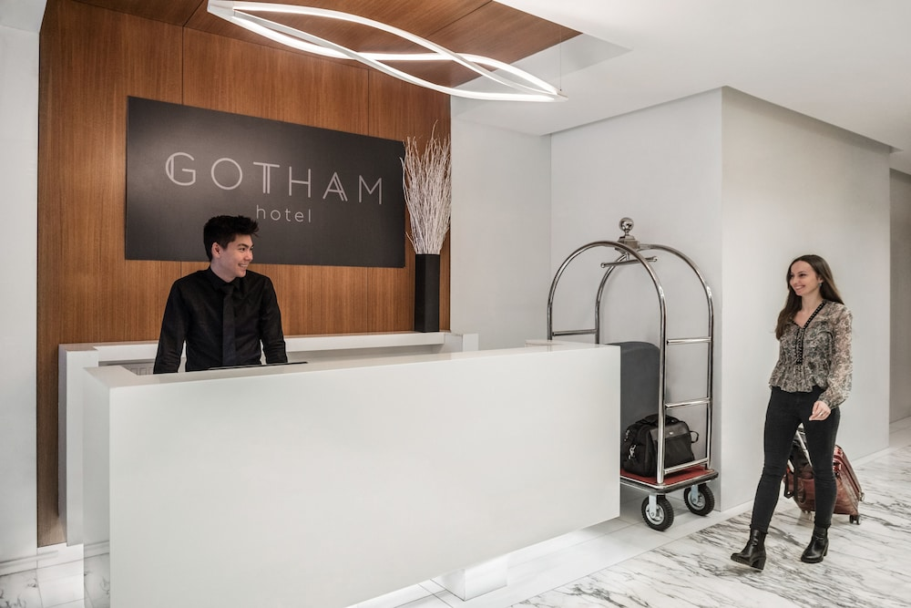 Reception, The Gotham Hotel