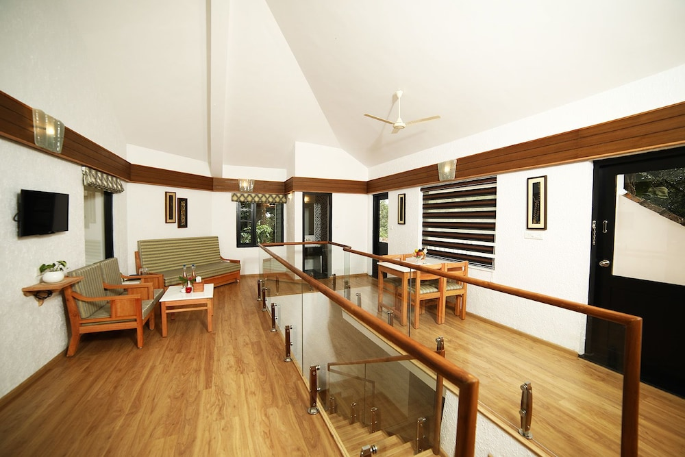 Living Area, The Tall Trees Munnar