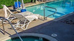 Sesongbasert utendørsbasseng