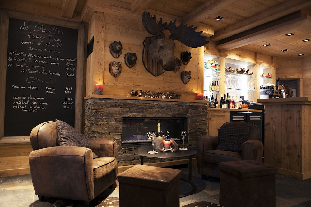 Lounge, Chalet-Hôtel Les Cimes, The Originals Relais