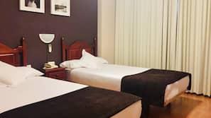 Cortinas opacas y ropa de cama