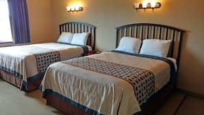 Iron/ironing board, rollaway beds, free WiFi, alarm clocks