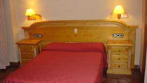 Blackout drapes, soundproofing, rollaway beds, free WiFi