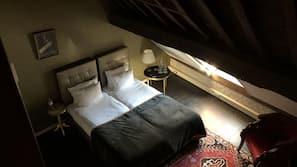 Een minibar, een kluis op de kamer, een strijkplank/strijkijzer