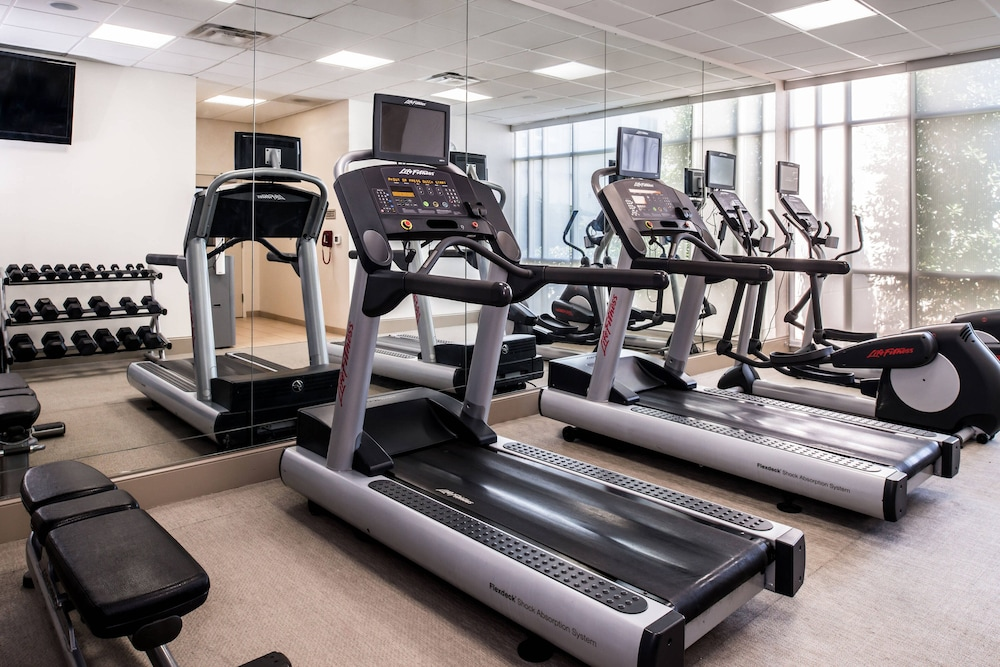 Fitness Facility, SpringHill Suites Huntsville Downtown