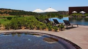 4 piscine all'aperto