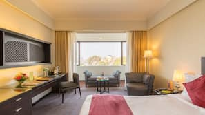 Minibar, in-room safe, laptop workspace, free cots/infant beds
