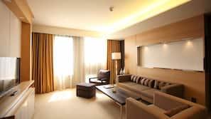 1 개의 침실, 오리/거위털 이불, 객실 내 금고, 책상
