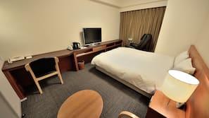 高級寢具、書桌、熨斗/熨衫板、免費 Wi-Fi