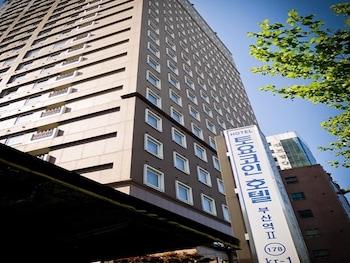 釜山へ3泊出張へ行きます。ランドリーのあるホテルを探しています。
