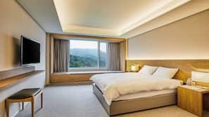객실 내 금고, 방음 설비, 침대 시트