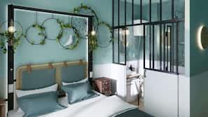 Hochwertige Bettwaren, Pillowtop-Betten, schallisolierte Zimmer