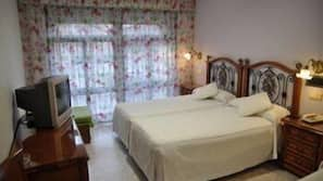 Ropa de cama de alta calidad y wifi gratis
