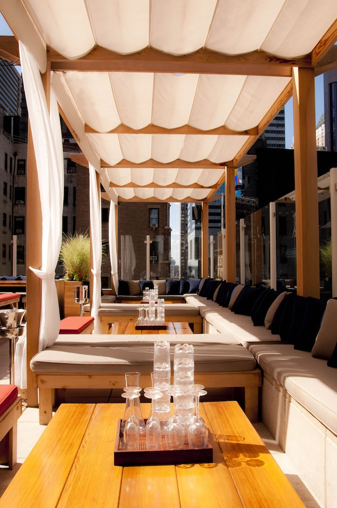 Terrace/Patio, Sanctuary Hotel New York