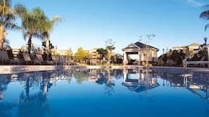 10 outdoor pools, cabanas (surcharge), pool umbrellas