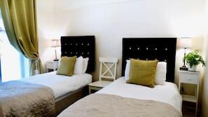 Premium bedding, iron/ironing board, free WiFi, linens