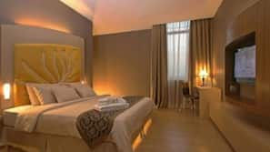 Select Comfort beds, in-room safe, individually furnished, desk