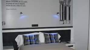 Minibar, caja fuerte, escritorio y camas supletorias gratuitas
