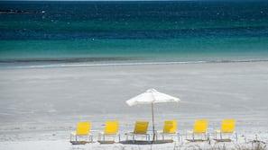 On the beach, beach yoga, surfing, kayaking