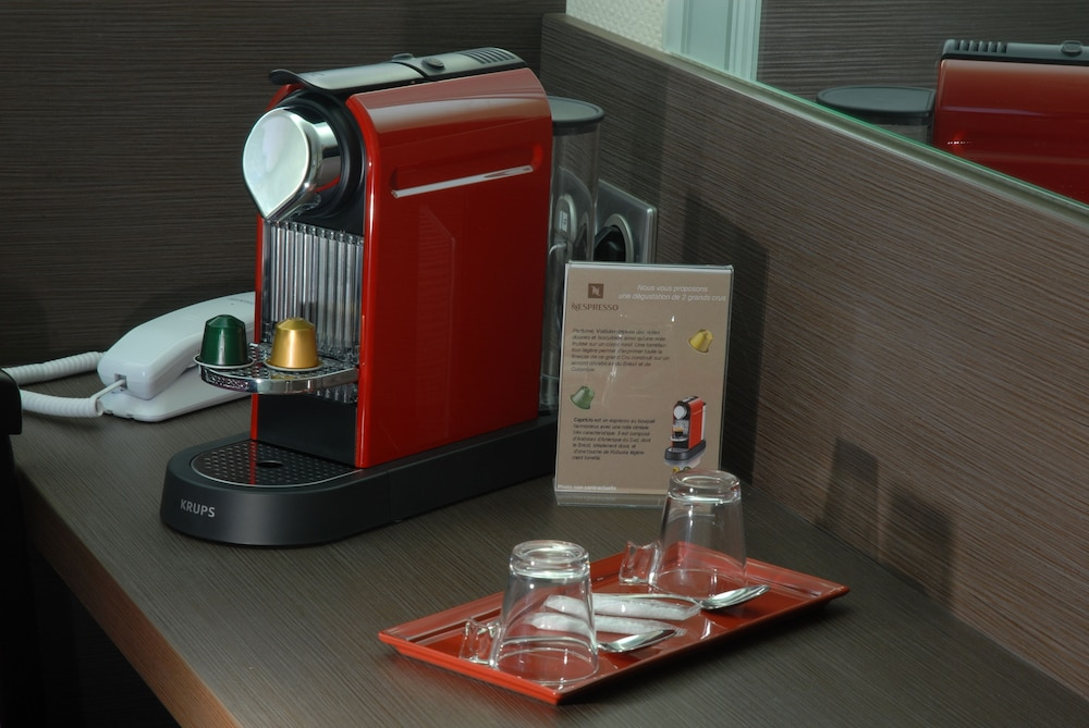 Coffee and/or Coffee Maker, Hôtel Roi Soleil Prestige Colmar