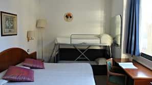 Caja fuerte, mobiliario individual, escritorio