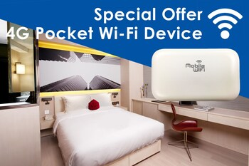Deluxe with 4G Pocket Wi-Fi Device - Guestroom