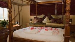 Premium bedding, individually decorated