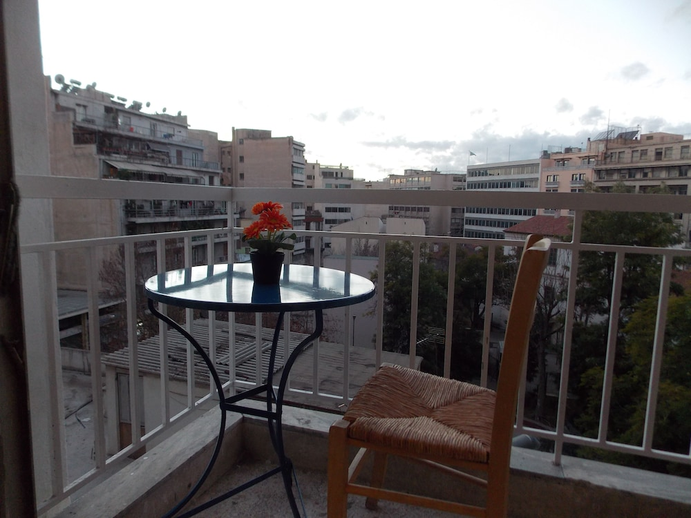 Balcony, Sparta Team Hotel - Hostel