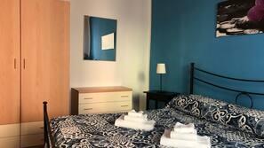 1 bedroom, Frette Italian sheets, down comforters, desk