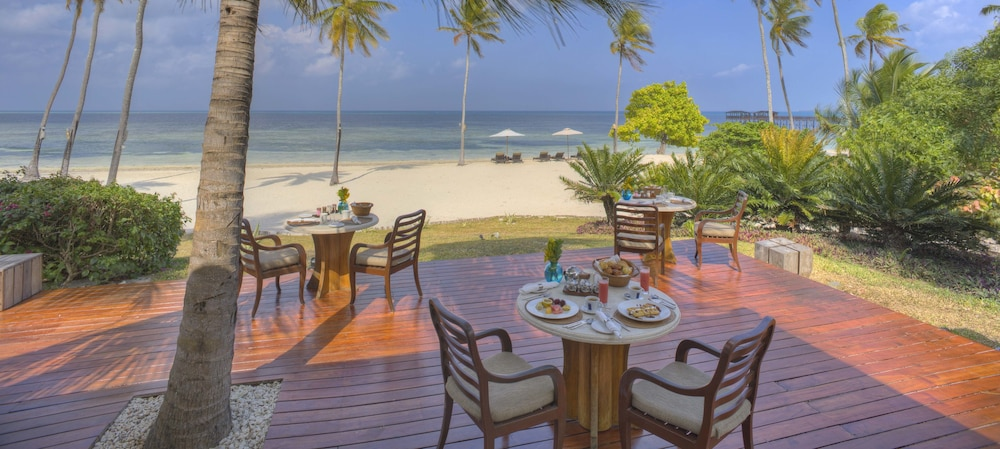 Outdoor Dining, The Residence Zanzibar