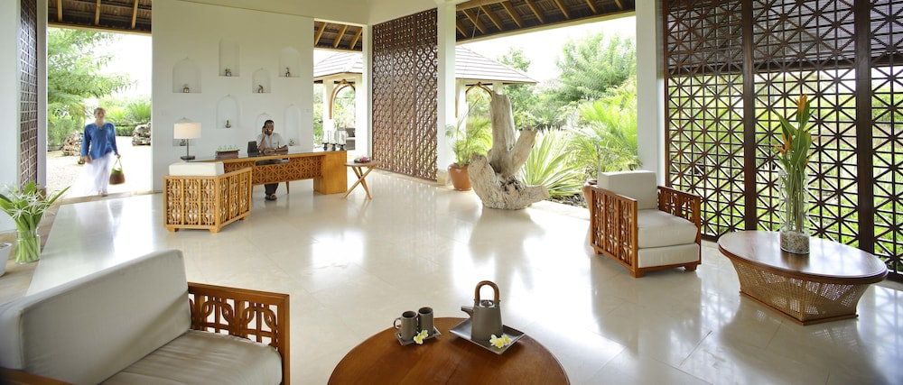 Spa Reception, The Residence Zanzibar