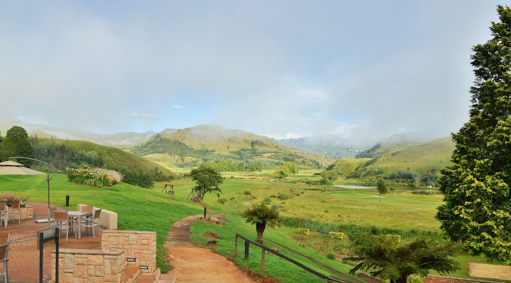 View from Property, Premier Resort Sani Pass