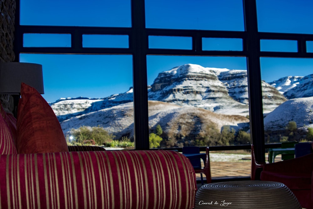 Land View from Property, Premier Resort Sani Pass
