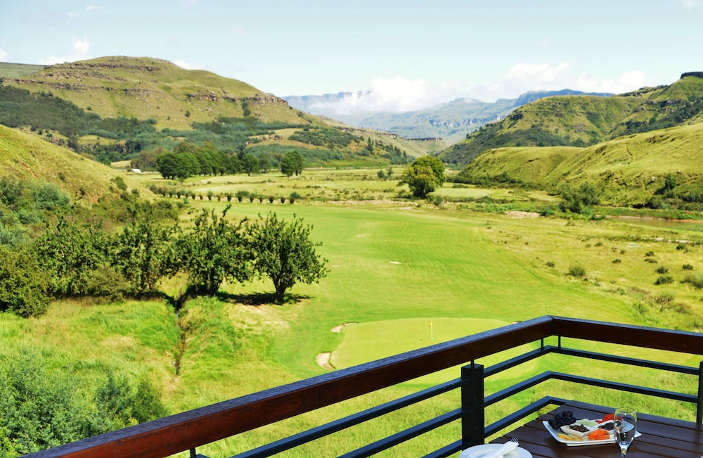 View from Room, Premier Resort Sani Pass