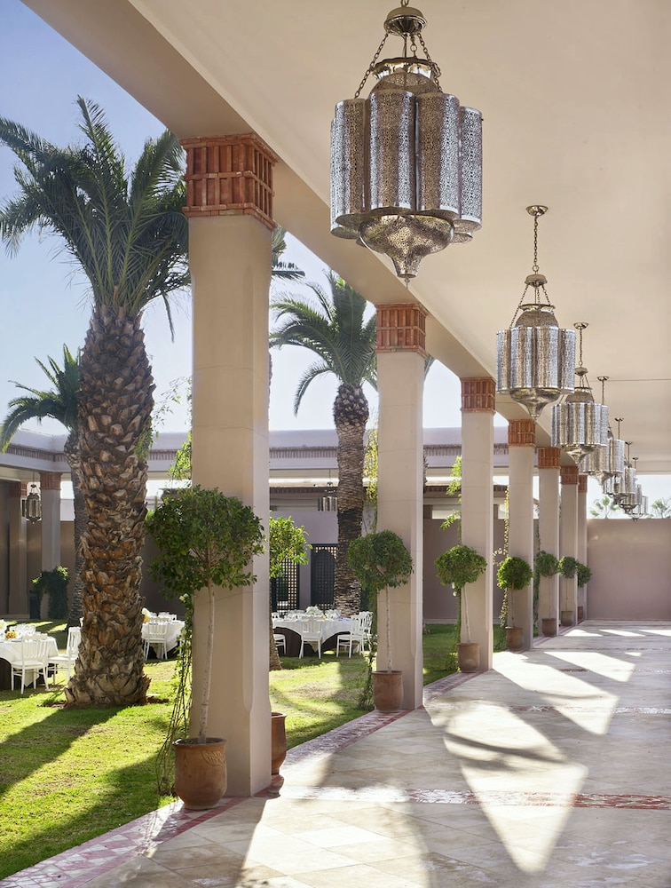 Outdoor Banquet Area, Four Seasons Resort Marrakech