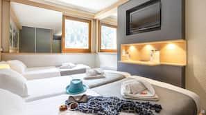 Coffre-forts dans les chambres, bureau, Wi-Fi gratuit, draps fournis