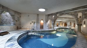 2 indoor pools, seasonal outdoor pool