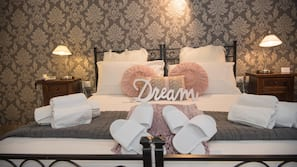 Premium bedding, memory-foam beds, in-room safe, individually furnished
