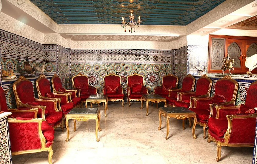 Lobby Sitting Area, Moroccan House Hotel Casablanca