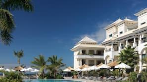 Indoor pool, 3 outdoor pools, cabanas (surcharge), pool umbrellas