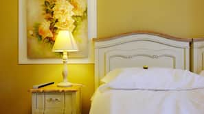 Premium bedding, in-room safe, desk, soundproofing