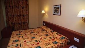 Premium bedding, Tempur-Pedic beds, in-room safe, free cots/infant beds