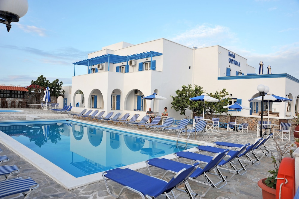 Outdoor Pool, Hotel Olympia
