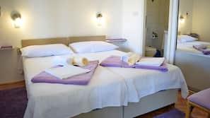 Schallisolierte Zimmer, Bügeleisen/Bügelbrett, kostenloses WLAN
