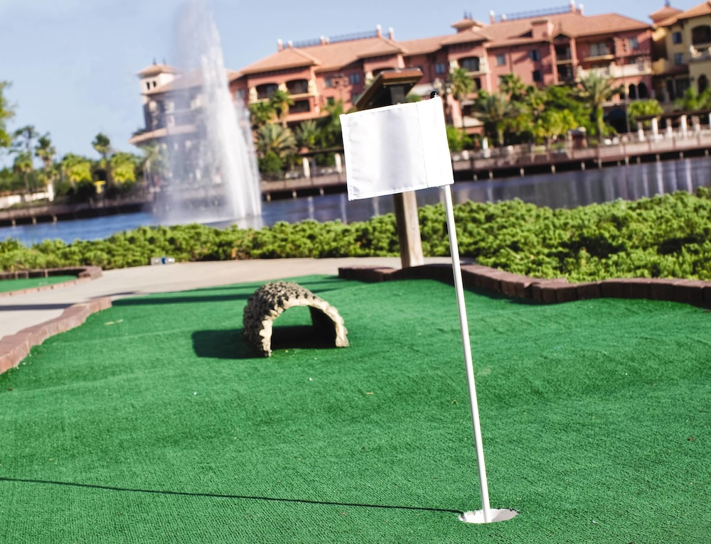 Mini-Golf, Wyndham Grand Orlando Resort Bonnet Creek