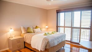 1 bedroom, premium bedding, bed sheets, wheelchair access