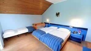 In-room safe, cribs/infant beds, rollaway beds, free WiFi